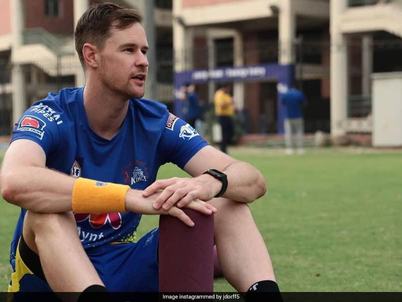 IPL 2021: चेन्नई सुपर किंग्स के जेसन बेहरेनडॉर्फ ने भारत COVID-19 संकट के लिए यूनिसेफ परियोजना को दान दिया